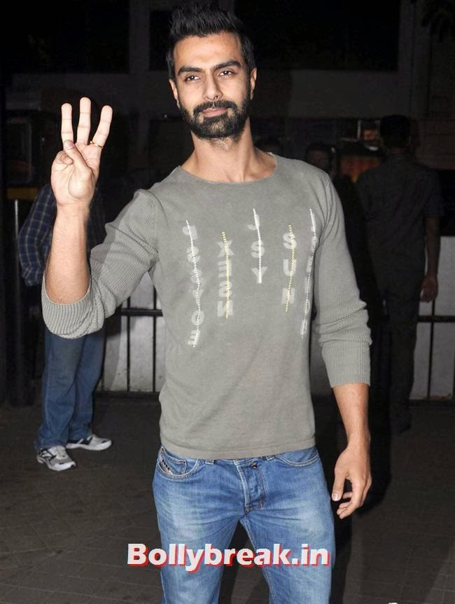 Ashmit Patel, Bollywood Celebs at Jai Ho Special Screening