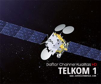 Daftar Channel Dengan Kualitas HD di Satelit Telkom 1