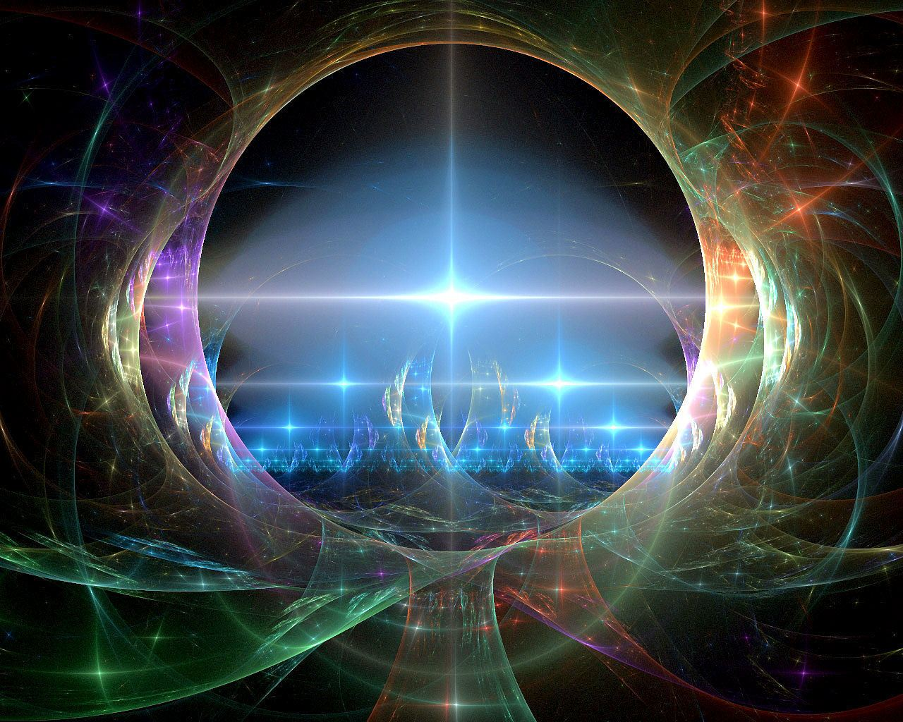The universe is eternal, infinite and vibrant, a conscious cosmos