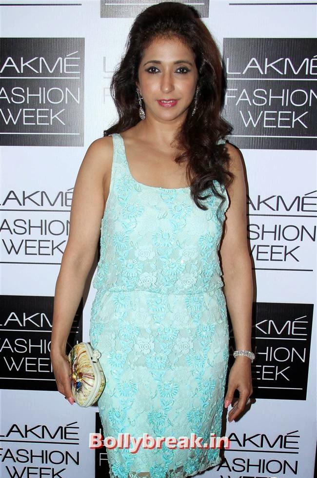 Krishika Lulla, Bollywood Actresses at Manish Malhotra Show at LFW Summer Resort 2014
