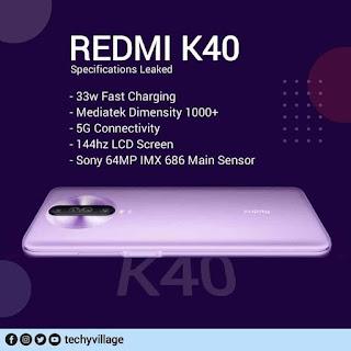 مواصفات ريدمي REDMI K40