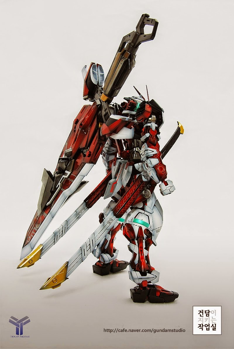 Custom Build Mg 1 100 Gundam Astray Red Frame Kai
