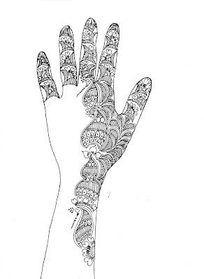 Welcome To Paddu Shetty's Blog: Mehandi Designs