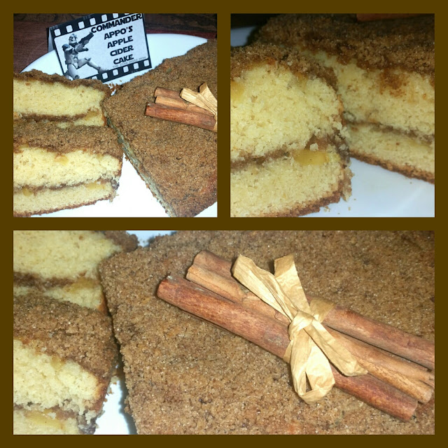 Commander Appo's Apple Cider Cake Recipe Star Wars Party Food