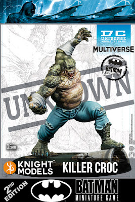 DC UNIVERSE MINIATURE GAME - BMG DCUMG KILLER CROC