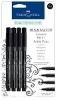 Faber-Castell Black artist pen