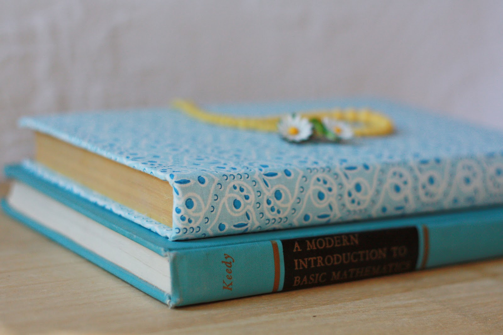 It Libro Amy J Delightful Blog Fabric Covered Book How To Tutorial