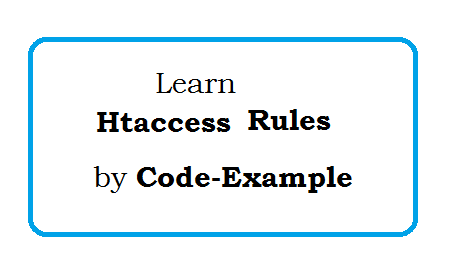 htaccess code snippets example