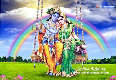 Radha Krishna Love Image