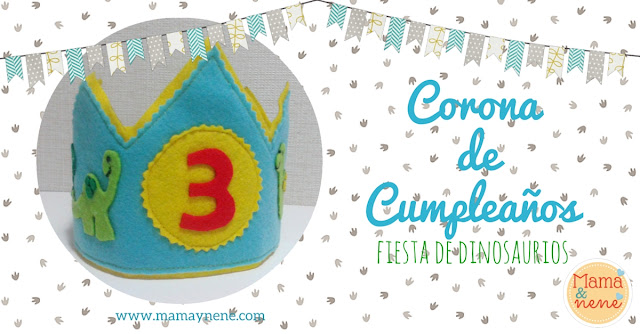 CORONA-BIRTHDAY-DIY-DINOSAUR-KIDS-MAMAYNENE