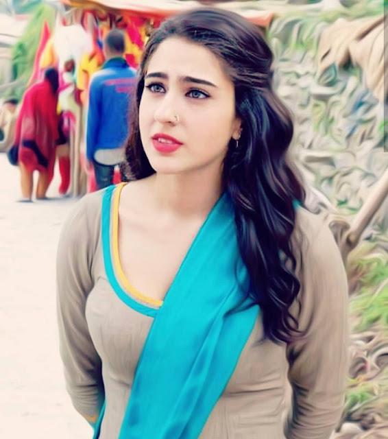 sara ali khan bold