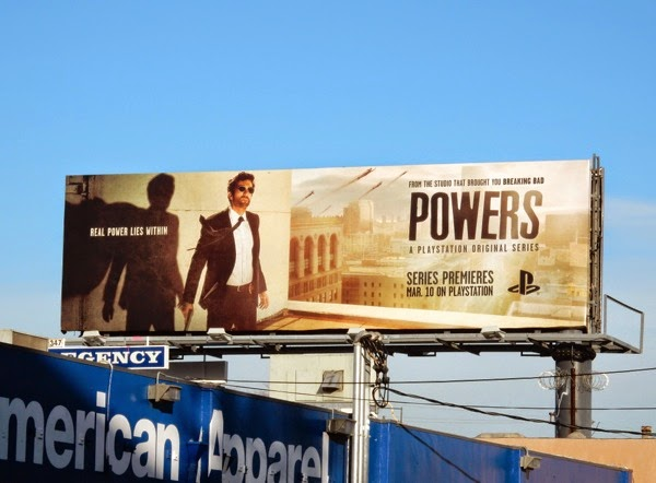 Powers series premiere billboard
