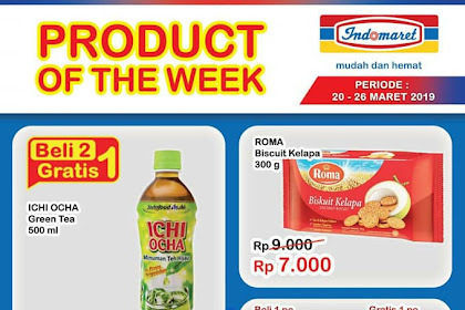 Katalog Indomaret Promo Hemat Product Of The Week 27 Maret - 2 April 2019