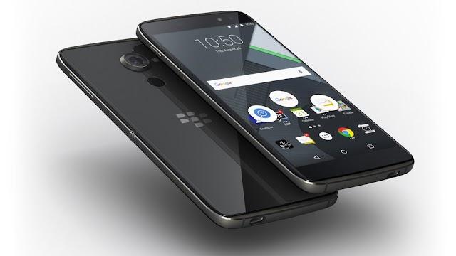 BlackBerry annonce le DTEK60 !