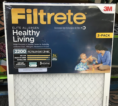 Breathe easier with the 3M Filtrete Elite Allergen Healthy Living 2200 Air Filter