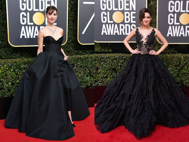 goldenglobes.2018.awardseason.redcarpet.allinblack.metoo.timesup.silentprotest.solidarity.moviebiz.black.dresses.gowns.awards.hollywood