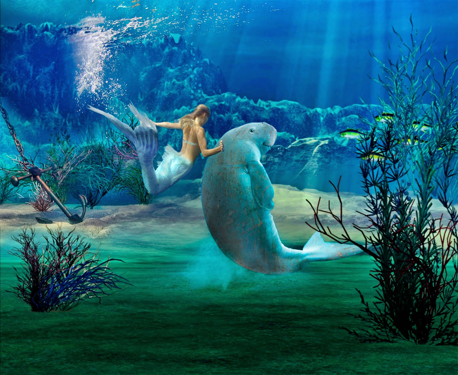 Man  Myth And Magic  Creatures From The Deep  Mermaids