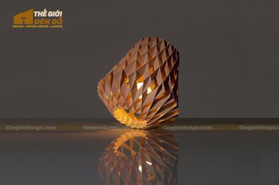 Thế Giới Đèn Gỗ - Đèn gỗ trang trí dg212-1