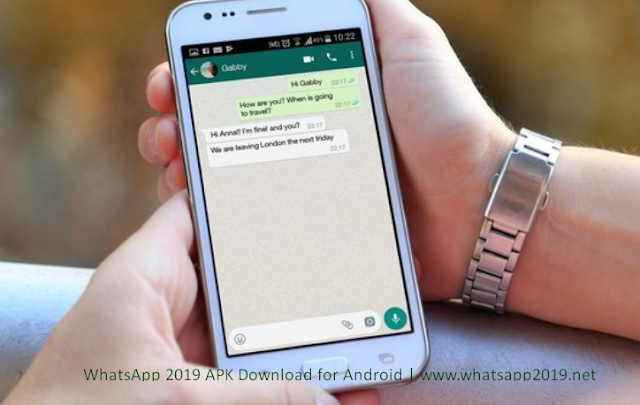 WhatsApp 2019 APK Download for Android