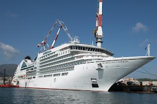 "Fincantieri consegna a Sestri ""Seabourn Ovation"""