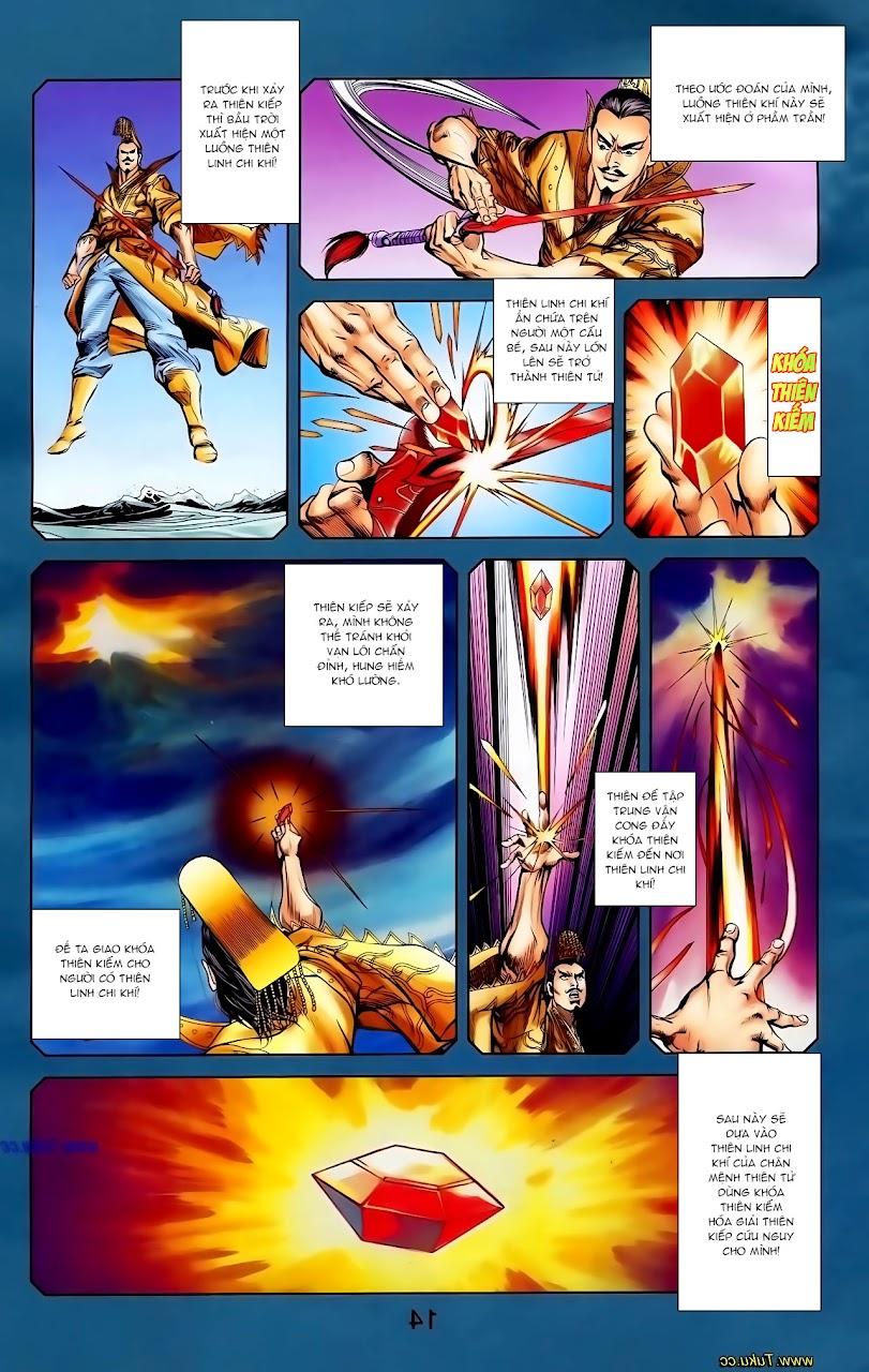 Cơ Phát Khai Chu Bản chapter 115 trang 28