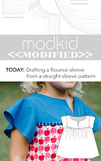 Modkid Dakota with Flounce Sleeve