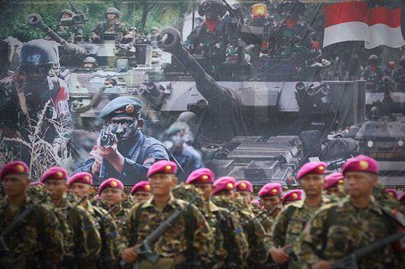 Pembukaan Latgab TNI 2013