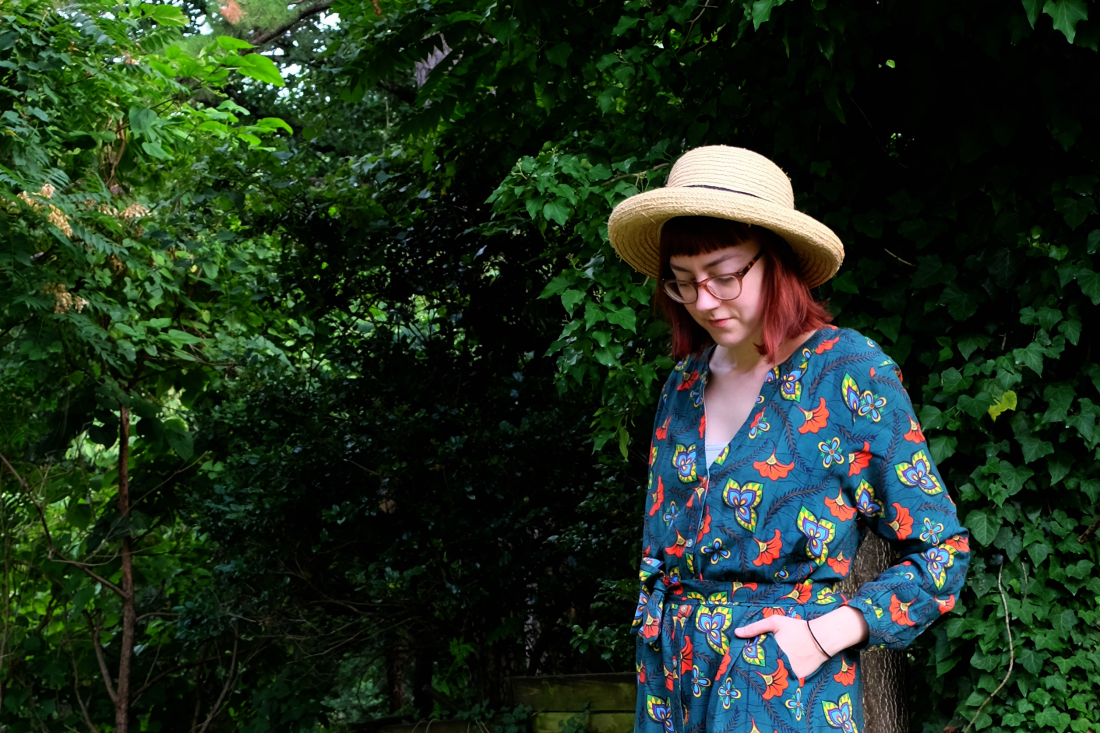 verry kerry boho and sustainable kimono dress