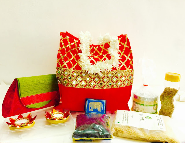 Gift hamper from Ishanya Foundation