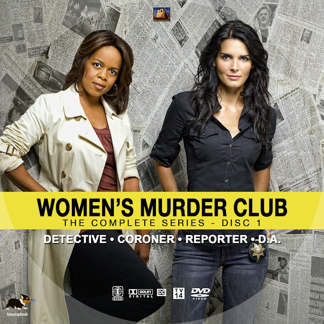 Women's Murder Club Disc 1 DVD Label