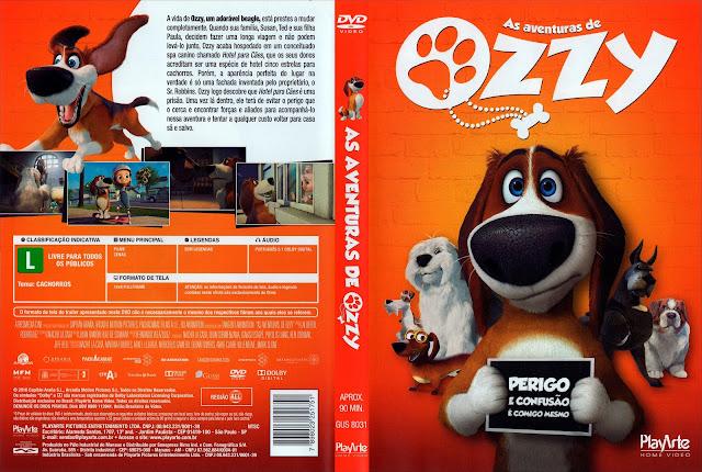 Capa DVD As Aventuras de Ozzy