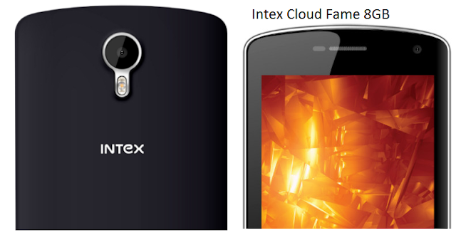 Intex Cloud Fame Price and Specification