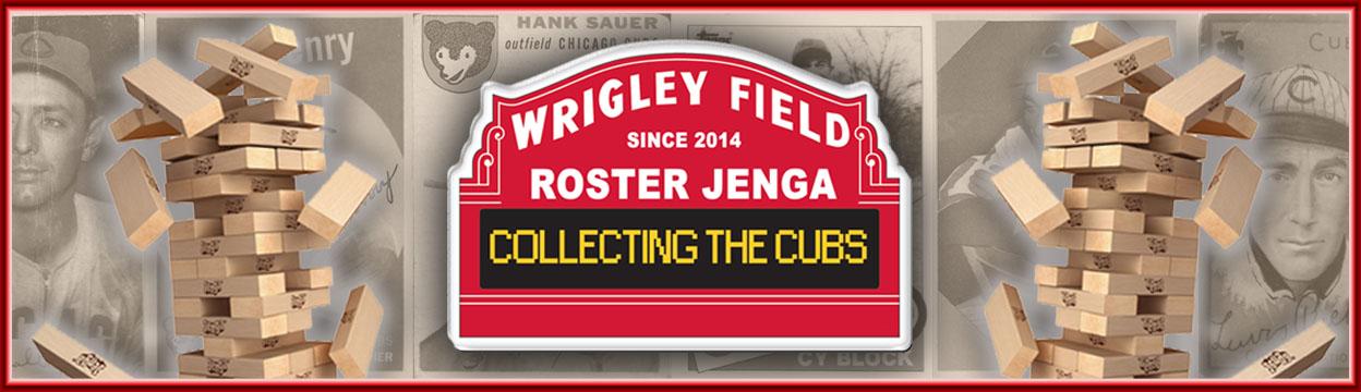 Wrigley Roster Jenga