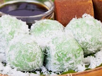 Resep Klepon, Kue mungil yang berwarna hijau dengan sensasi ledakan gula merah
