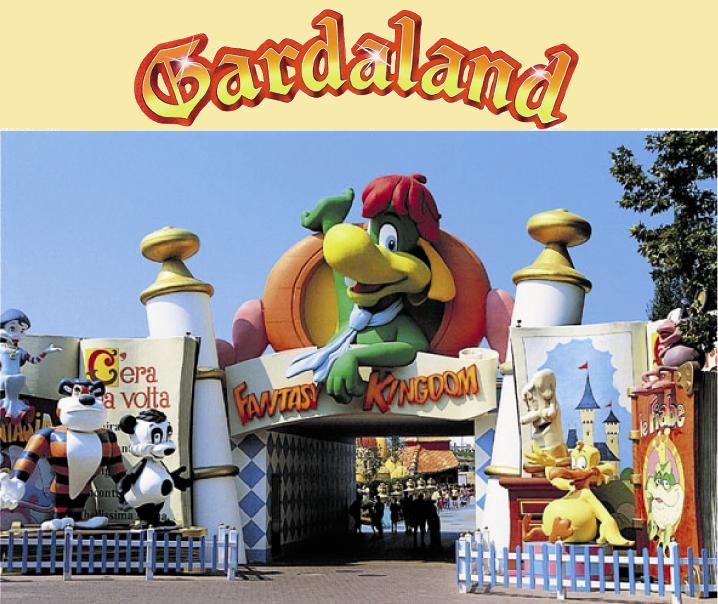 World Visits Tours of Gardaland in Italy Cool Park View