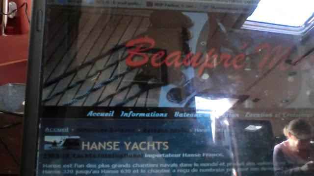 probl mes voiliers hanse sailboats ex euronautic languedoc roussillon rena t et devient. Black Bedroom Furniture Sets. Home Design Ideas