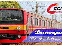 Lowongan Kerja Terbaru PT Kereta Commuter Indonesia 2019
