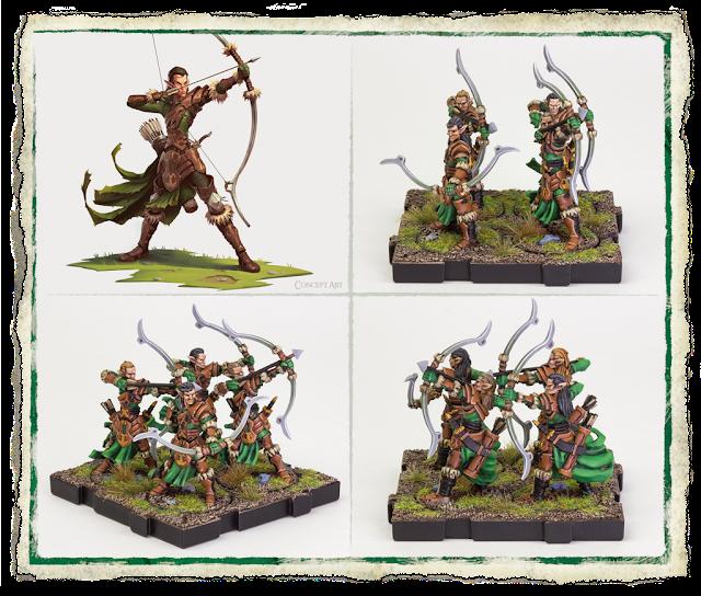 Fantasy Flight Games: RuneWars Latari Elves Army Expansion