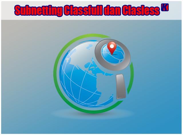 Pengertian dan Penjelasan Subnetting Classfull dan Clasless pada Jaringan Komputer
