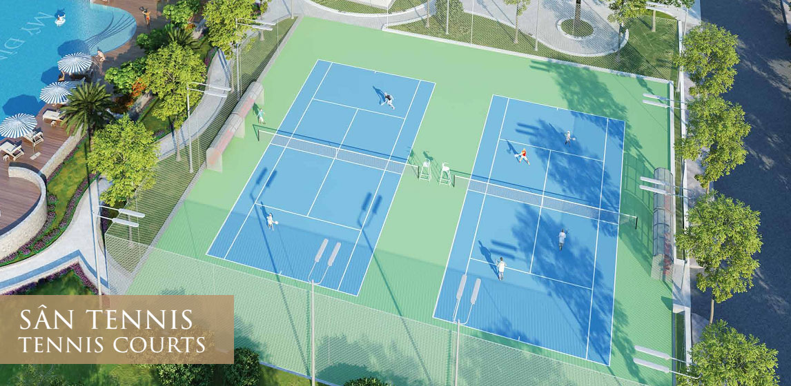 sân tennis chung cư mỹ đình pearl