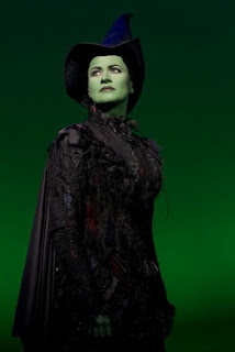 Mamie Parris in Wicked as Elphaba