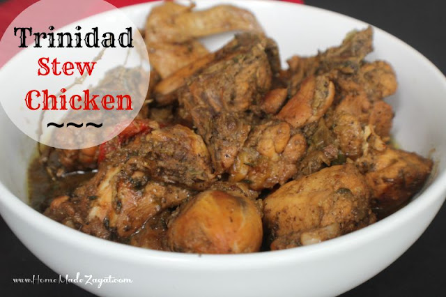 Basic Trinidad Stewed Chicken