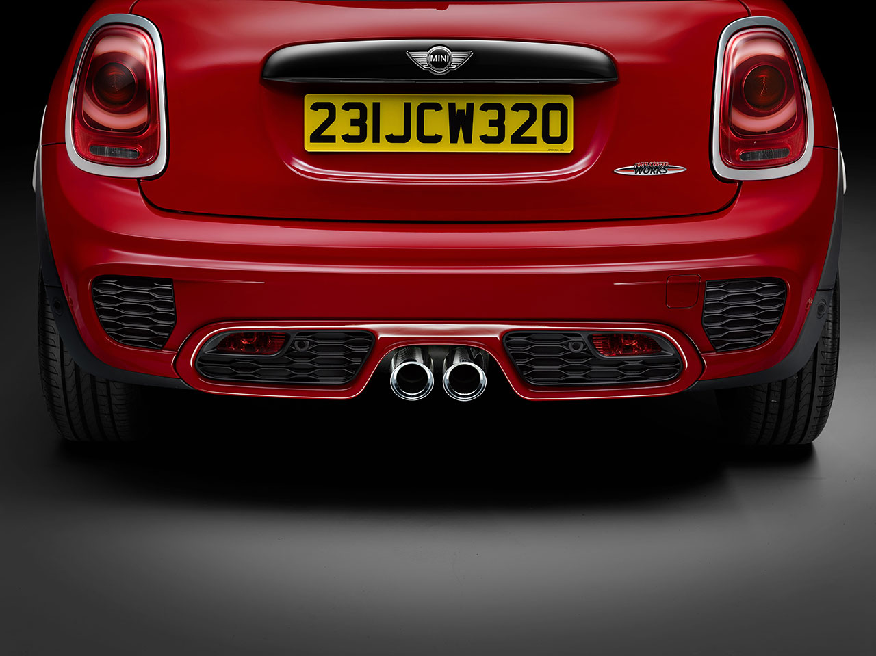 Mini John Cooper Works Hatch rear