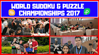 12th Word Sudoku Championship and 26th World Puzzle Championship 2017