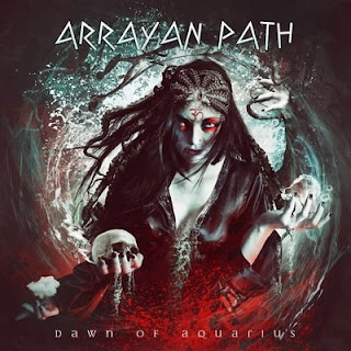 "Arrayan Path - ""Lotus Eyes"" (lyric video) from the album ""Dawn of Aquarius"""