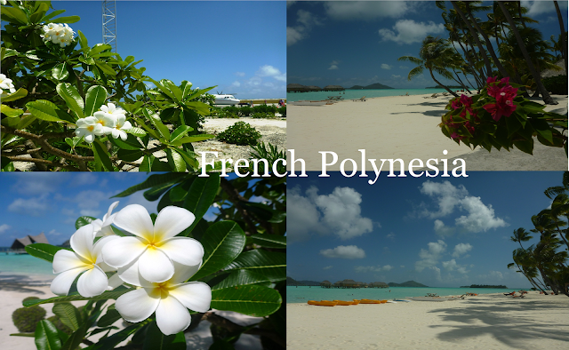 french polynesia, beach