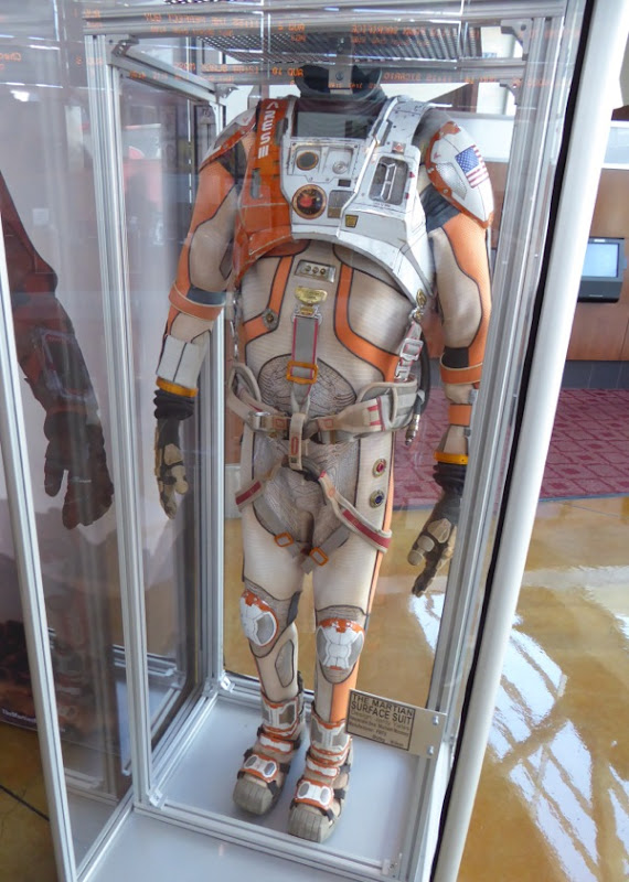 Matt Damon NASA spacesuit The Martian