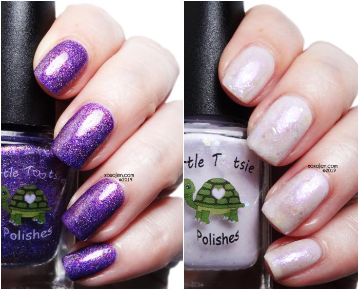 xoxoJen's swatch of All The Purple Polish: Group Customs