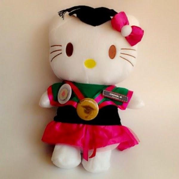 Boneka hello kitty wisuda gratis download