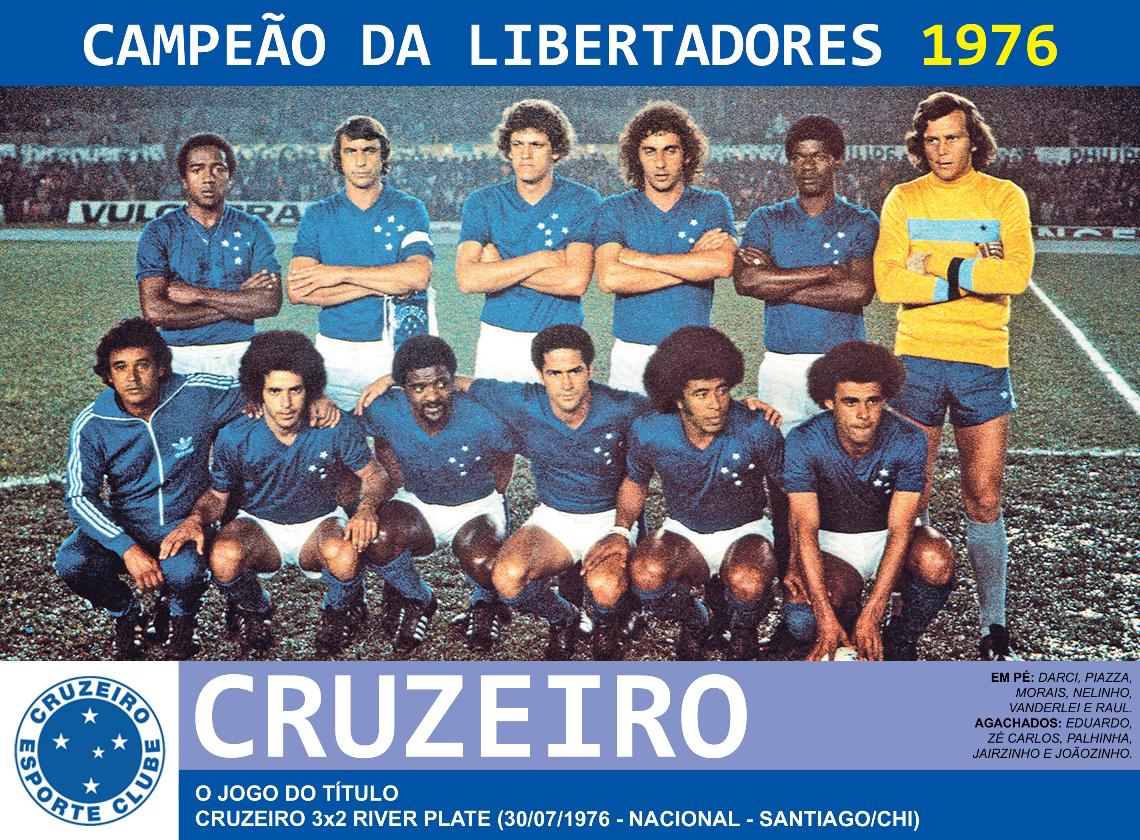 0b95c94d3a Edição dos Campeões  Cruzeiro Campeão da Libertadores 1976